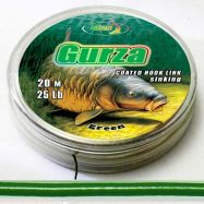 GURZA 20m coated hook link braid GREEN Vorfachmaterial günstig deal