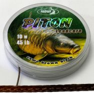 KATRAN PITON camo brown black 10m 45lb Leadcore günstig angebot deal