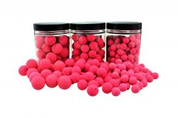 Fluo Pop Ups ROT / PINK 100g 20mm Popups Pop-Ups Pop-Up