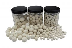 Fluo Pop Ups  WEISS / WHITE 100g 20mm Popups Pop-Ups Pop-Up