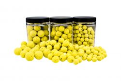 Fluo Pop Ups GELB / YELLOW 100g 15mm Popups Pop-Ups Pop-Up