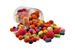 Fluo Pop Ups MIX 100g Popups Pop-Ups Pop-Up gemischt