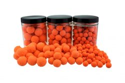 Fluo Pop Ups ORANGE 100g 10mm Popups Pop-Ups Pop-Up
