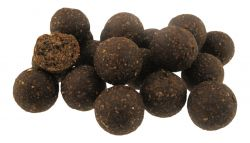 HIGH ACTIVE SQUID OCTUPUS & LIVER + BUTYRIC ACID 1Kg Boilies 20mm Leber