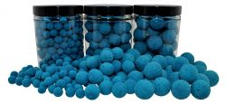 Fluo Pop Ups  BLAU / BLUE 100g 10mm Popups Pop-Ups Pop-Up