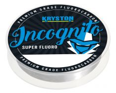 KRYSTON Incognito Fluorocarbon Hooklink Clear 20m 13lb 0,35mm Flurocarbon