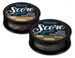 KRYSTON Score GOLD CAMOU 5m 60lb Leadcore Heavyweight Leadcore günstig
