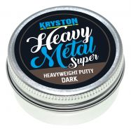 KRYSTON Heavy Metal DARK SILT 20gr Tungsten Putty Super Heavyweight