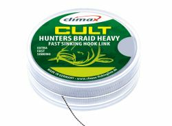 CLIMAX CULT CARP HEAVY HUNTERS BRAID 20m 20/30 lb silt Hooklink Vorfachmaterial Braid