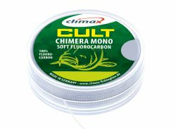 CLIMAX CULT CARP CHIMERA 20m 0,40mm/20lb Hooklink Vorfachmaterial Braid