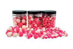 ZWEIFARBIGE Fluo Pop Ups PINK/WEIß 12mm Popups Pop-Ups Pop-Up deal