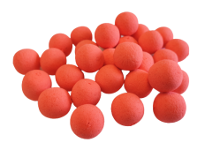 AKTION!! FLUO POPUPS ROT 15mm NEUTRAL 1Kg / 1.000g